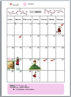ejemplo calendario