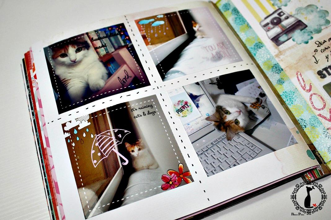 Album de fotos scrapbook 3 193 lbum de scrapbooking de - Como hacer un album de fotos ...