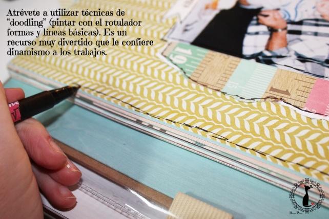 Tutorial 2 Libro de firmas boda Cinderella 14