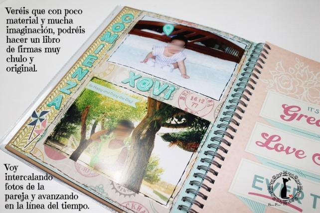 Tutorial 2 Libro de firmas boda Cinderella 16