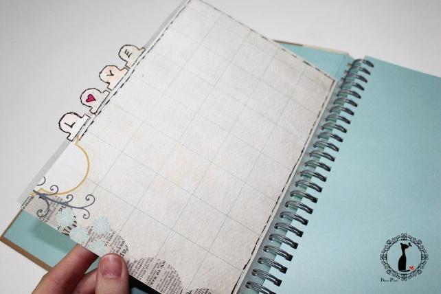 Tutorial 2 Libro de firmas boda Cinderella 4