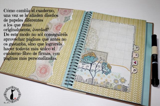 Tutorial 2 Libro de firmas boda Cinderella 5