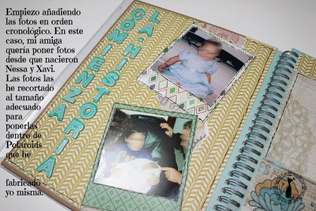 Tutorial 2 Libro de firmas boda Cinderella 7