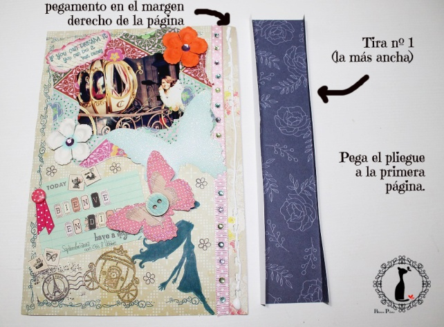 Tutorial Álbum de fotos - cuaderno de fotos 23