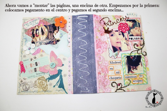 Tutorial Álbum de fotos - cuaderno de fotos 31
