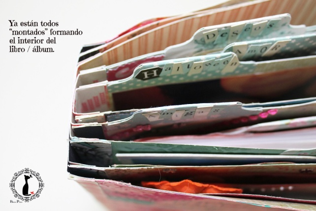Tutorial Álbum de fotos - cuaderno de fotos 35