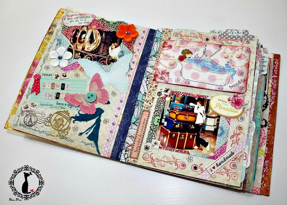 Cinderella 39 s scrap room desde el mundo de cinderella cinderella scrap world comparto con - Manualidades album de fotos casero ...