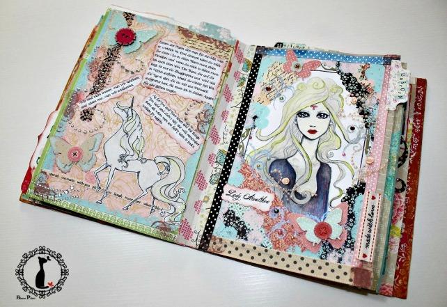 Tutorial Álbum de fotos - cuaderno de fotos 42