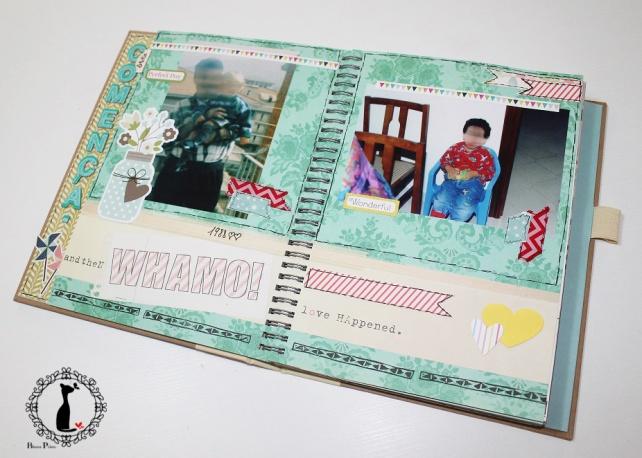 Tutorial num 3 - Album y Libro de firmas para boda 17