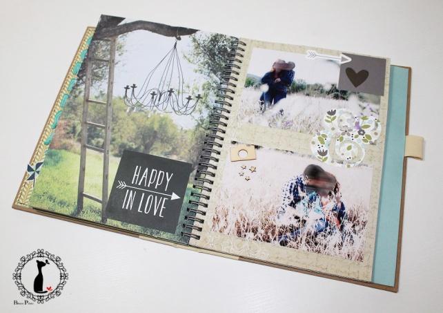 Tutorial num 3 - Album y Libro de firmas para boda 23