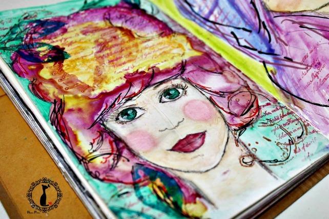 ArtJournaling Girls Cinderella 2