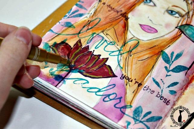 ArtJournaling Techniques Bienve Prieto 11