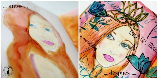 before after ArtJournaling