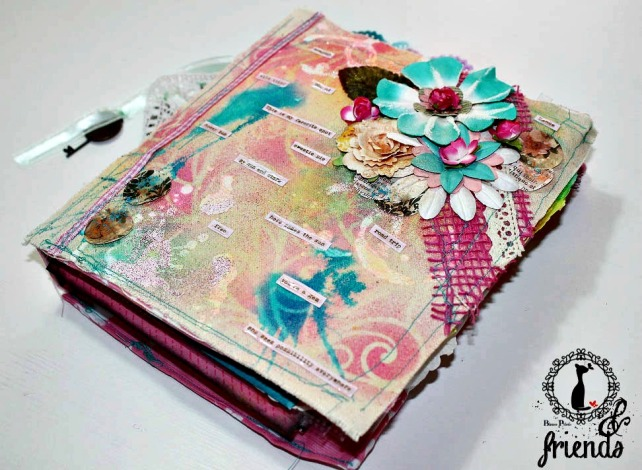 Cinderella&Friends-Vintage ArtJournal 1