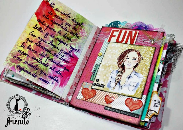 Cinderella&Friends-Vintage ArtJournal 11