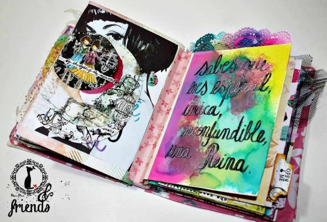 Cinderella&Friends-Vintage ArtJournal 12