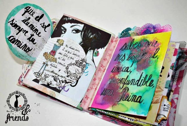 Cinderella&Friends-Vintage ArtJournal 13