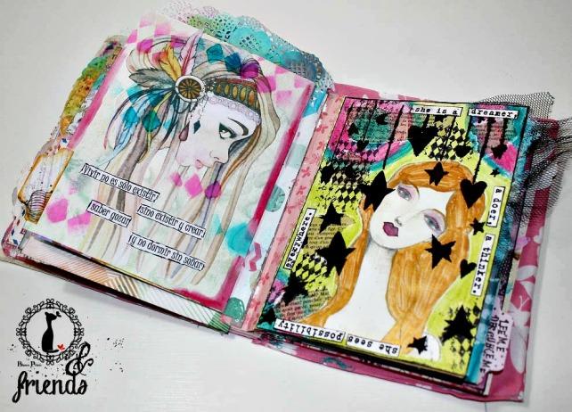 Cinderella&Friends-Vintage ArtJournal 15