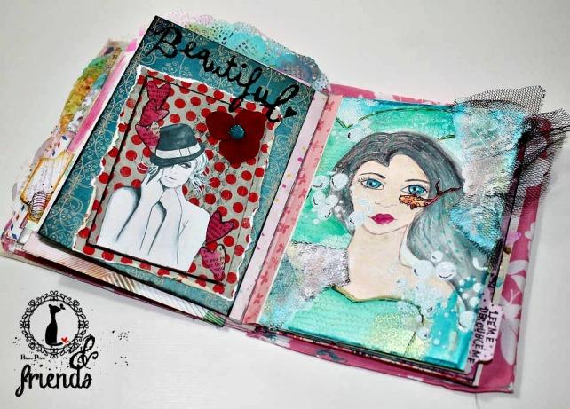 Cinderella&Friends-Vintage ArtJournal 16