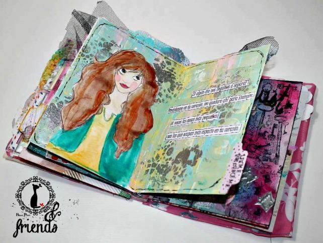 Cinderella&Friends-Vintage ArtJournal 17