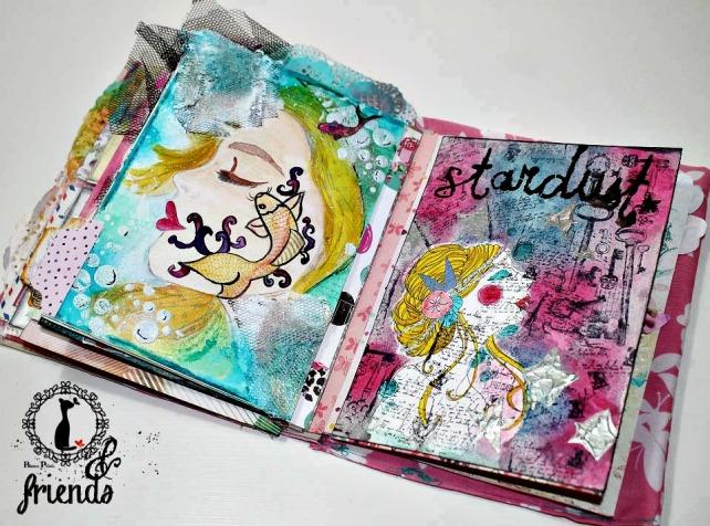 Cinderella&Friends-Vintage ArtJournal 18