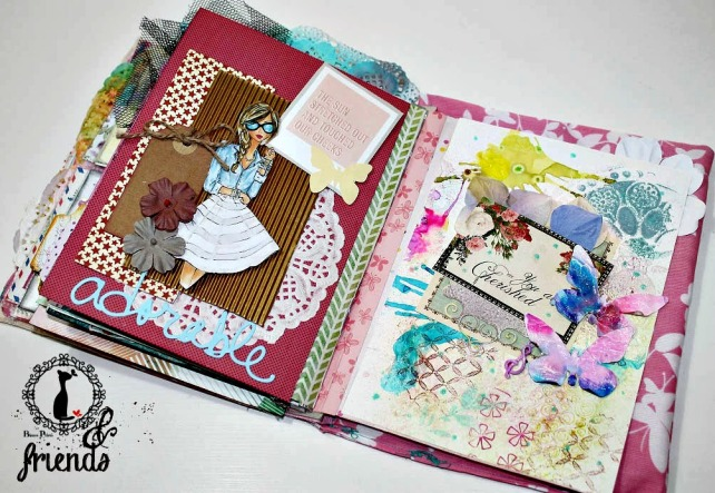 Cinderella&Friends-Vintage ArtJournal 19