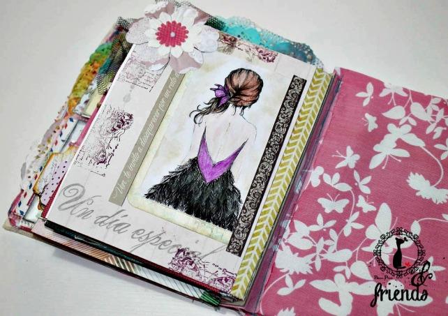 Cinderella&Friends-Vintage ArtJournal 20