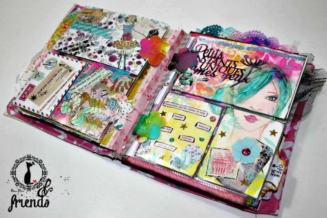 Cinderella&Friends-Vintage ArtJournal 9