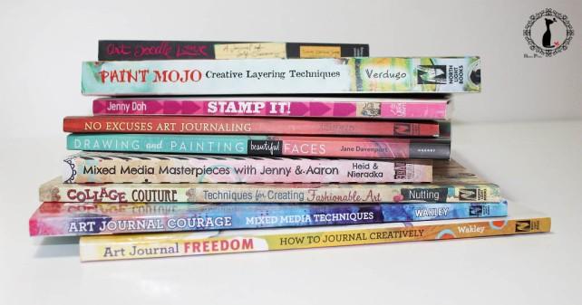 libros ArtJournal y MixedMedia-recomendados