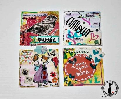 Mini álbum Sobres 11