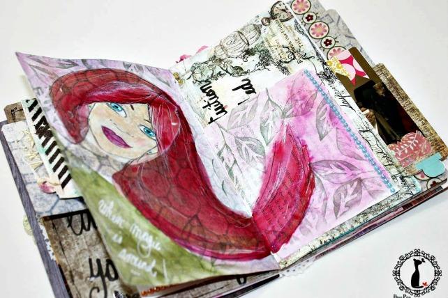 Artjournal Basajaun for Rosemary Van Deuren 11