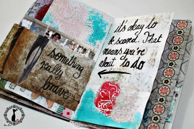 Artjournal Basajaun for Rosemary Van Deuren 12