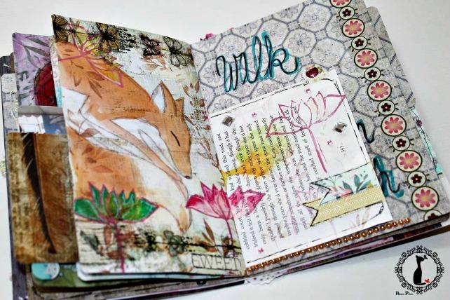 Artjournal Basajaun for Rosemary Van Deuren 13
