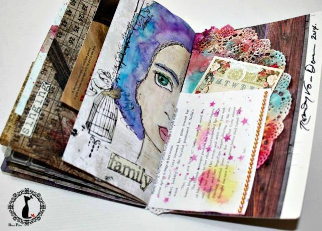 Artjournal Basajaun for Rosemary Van Deuren 16