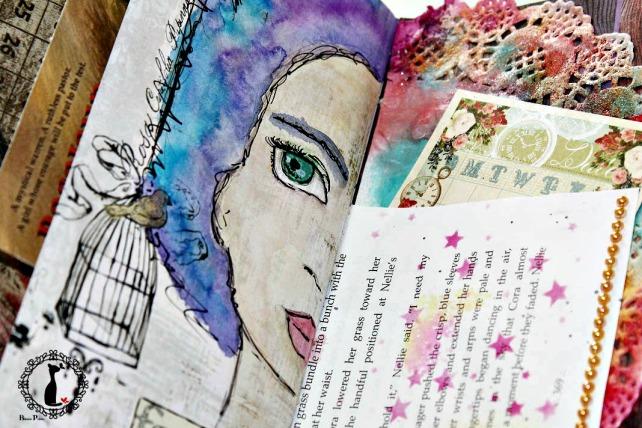 Artjournal Basajaun for Rosemary Van Deuren 17