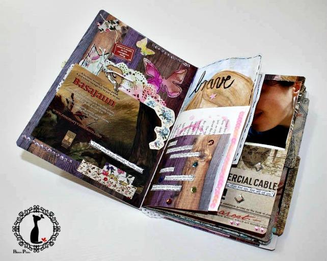 Artjournal Basajaun for Rosemary Van Deuren 4