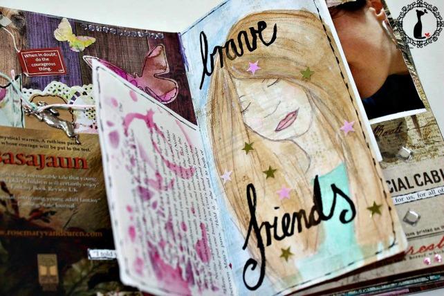 Artjournal Basajaun for Rosemary Van Deuren 6