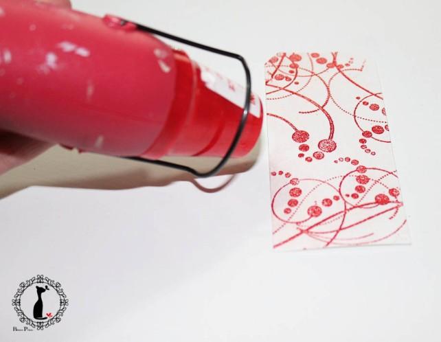 Tecnicas Basicas ArtJournal - Embossing 6