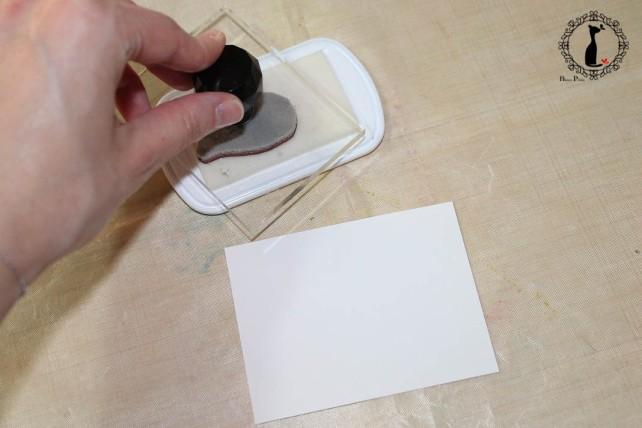 Tutorial Bienve Prieto - crear fondos transparentes con relieve y pintar con acuarela 10