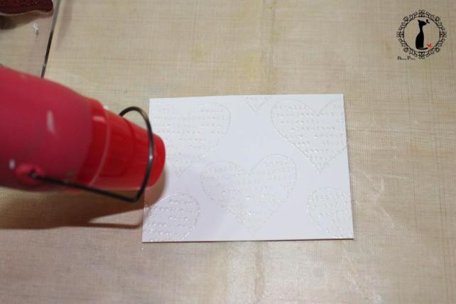Tutorial Bienve Prieto - crear fondos transparentes con relieve y pintar con acuarela 12