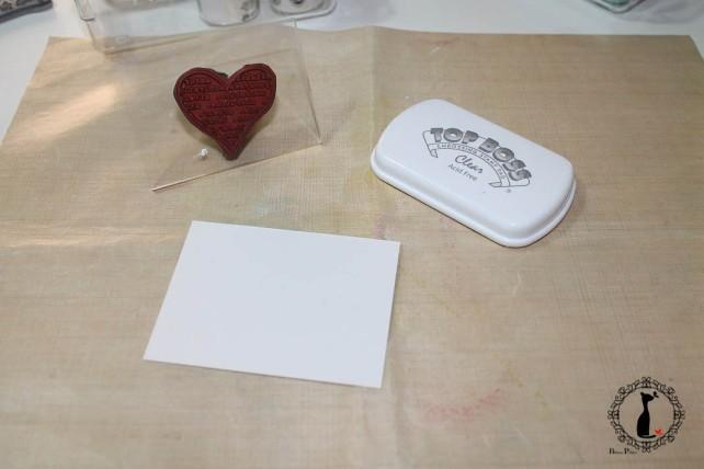 Tutorial Bienve Prieto - crear fondos transparentes con relieve y pintar con acuarela 9