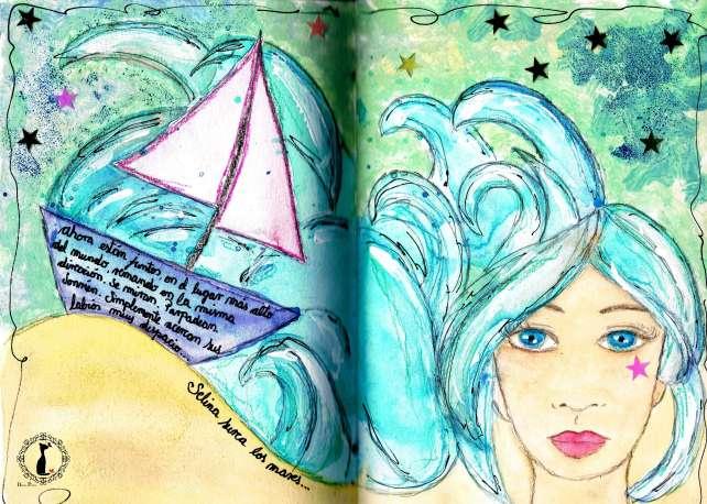 Selina en alta mar