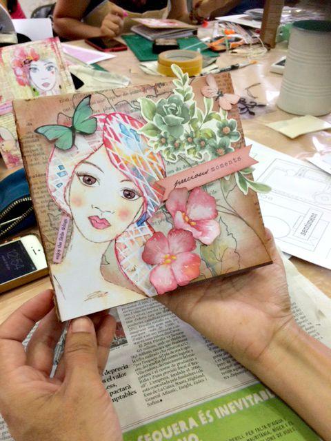 Taller Álbum Diario - Libro de firmas Bienve prieto 10