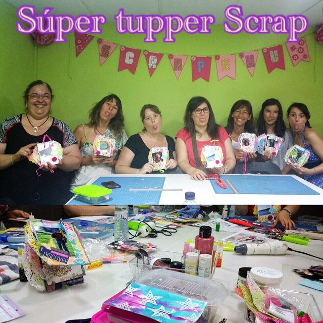 Taller SuperTupperScrap con Cinderella 9