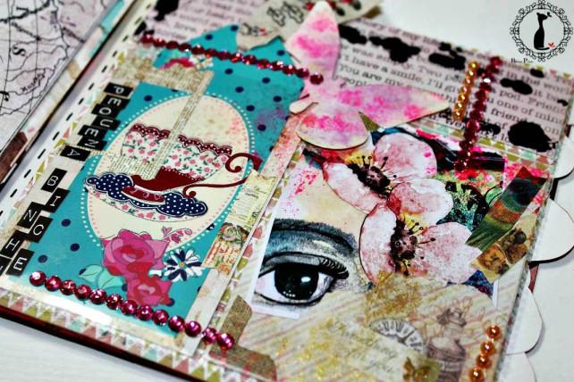 Álbum de Fotos MixedMedia Cinderella 13