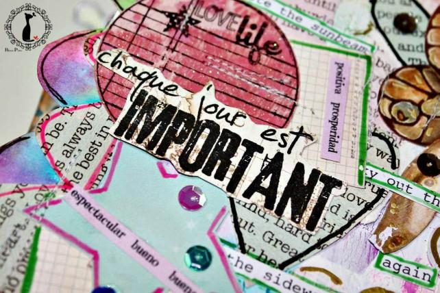cada día es importante - album artjournal cinderella 9