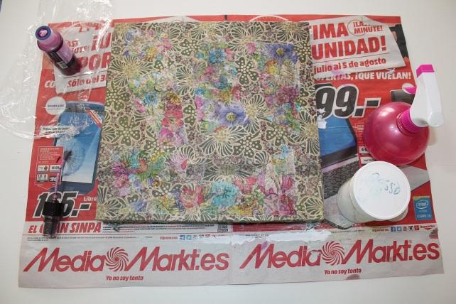 Cuadro MixedMedia Cinderella Bienve Prieto 5