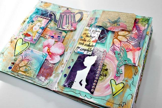 ArtJournal Bienve prieto en Creativa BCN 1