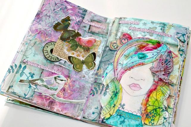 ArtJournal Bienve prieto en Creativa BCN 2