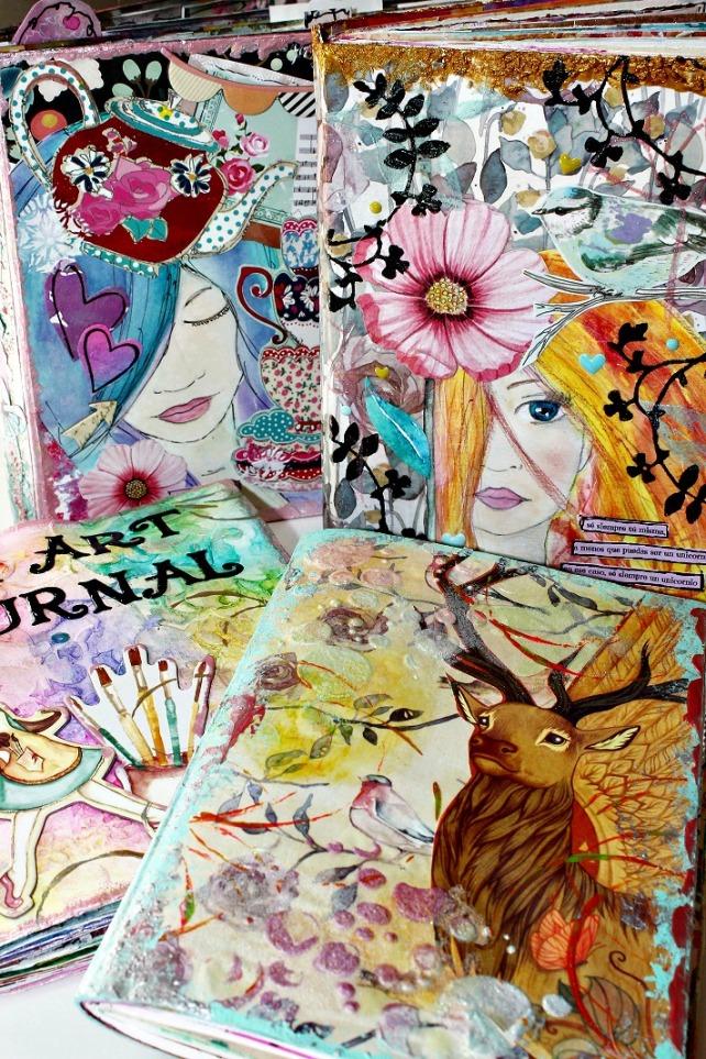 Live ArtJournaling en Creativa Barcelona 2015 - 1